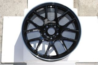 "Black Machine Lip 18"" Rims Chr Style Wheel Mitsubishi Eclipse Lancer Coupe Sedan"