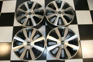 "Kia Optima Factory 18"" Machined Charcoal Wheels Rims 74653 Set of 4"