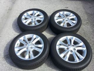 "2013 Kia Optima 17"" Hybrid Sonata Hyundai Elantra Stock Factory Wheels Rims"