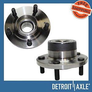 2 New Rear Dodge Mitsubishi Wheel Hub Bearing Assemblies 5 Lug Non ABS FWD