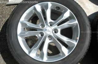 "2013 Kia Optima 17"" Factory Wheels Tires Amanti Soul 2012 2011 2010 2009"