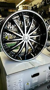 20 inch Rims Borghini Wheels and Tire Package Chevy Infiniti Nissan Kia BMW MBZ