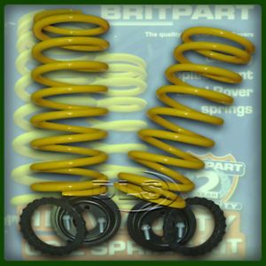 "Land Rover Discovery 2 Rear 2"" Coil Spring Conversion"