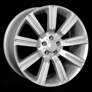 "22"" Silver Land Rover ""Stormer"" Wheels Rims Fit Land Rover LR3 Discovery 2002"