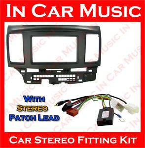 Mitsubishi Lancer Steering Wheel Stalk Control Adaptor Kit and Stereo Patch Lead