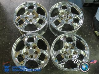 Four 97 99 Mitsubishi 3000gt Factory 16 Chrome Wheels Rims 65753 Outright