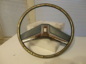 1977 78 79 RARE Oldsmobile Delta 88 Regency Ninety Eight Steering Wheel Horn Pad
