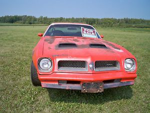 1976 Pontiac Firebird Formula Build Sheet Project Parts Car RARE Find Trans Am