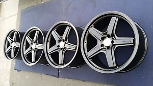 "21"" GL550 AMG Mercedes Factory Wheels Rims GL63 GL450 Satin Black 20 19"