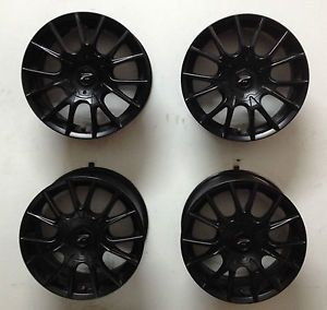 "Set 4 17"" Ultra 401 Marathon 5 Lug Wheels Rim Black 17x7 5 5x4 5 Rims Acura Jeep"