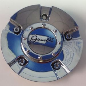 "Gianelle Chrome Wheel Center Cap PN 502L175 6 75"" O D Fits V5 Rims"