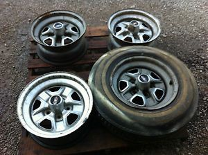Oldsmobile Early 70's 15 x 7 inch Chrome Rally Wheels Set of 4