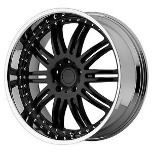 Set 20x8 5 KMC Dime KM127 Black Wheels Rims 5x4 5 Ford Jeep Dodge Chrysler 300C