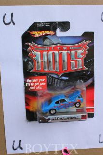 1 64 Custom 1970 Chevrolet Chevelle Blue Flames Ultra Hots by Hot Wheels