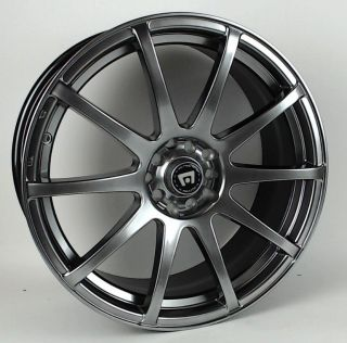 "Motegi Racing SP10 MR2747 Matte Black Wheel 18x8"" 5x100mm"