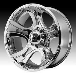 20 inch 20x9 XD Chrome Wheels Rims 6x135 Ford F 150 Expedition Navigator 6 Lug