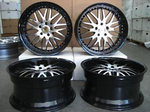 22'' Wheels Rims BMW x5 x6 5x120 Staggered