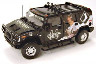 Highway 61 Chicago White Sox Hummer® H2 Diecast Car Truck SUV 1 18 Konorko
