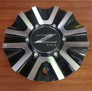 Zinik Z29 Wheel Aftermarket Black Machined Center Cap Z29 2AL Cap No Screw ZK7