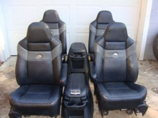 2006 Ford F250 Super Duty Harley Davidson Seats Front and Rear 99 07 F250 F350