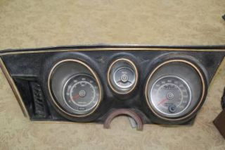 1971 1972 1973 Ford Mustang Mach 1 Tach and Gauges in Good Condition