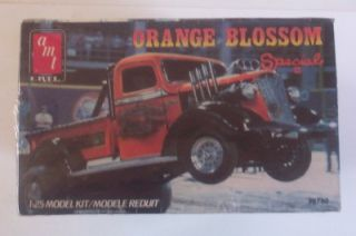 Orange Blossom Special II Tractor Pull Chevy Truck 1 25 SEALED Vtg Model Kit