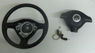 3 Spoke Steering Wheel Package VW Golf Jetta Passat 98 05 B5 MK4