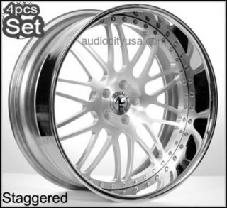 "20"" AC Forged for Lexus Altima Impala Infiniti Jaguar Wheels Rims 3pc Forged"