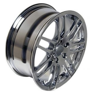 17 x 7 5 Chrome New RS4 Wheel Fit Audi A4 A6 A8