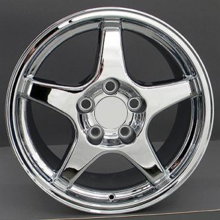 17 ZR1 Chrome Wheel Rim Fits Corvette Trans Am Firebird SS Camaro Z28