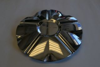 "KMC 124 Ace Chrome Wheel Hubcap Rim Center Cap 1000124 20"" 22"" 24"""