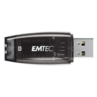 Emtec C400 USB 20 Flash Drive 8GB Black