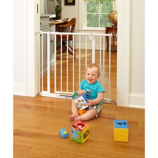 North States Easy Close Metal Gate with Two Extensions North States Child Gates