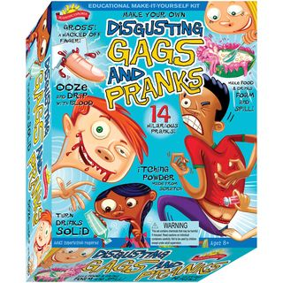 Scientific Explorers Disgusting Gags and Pranks Kit Poof Slinky Science Kits