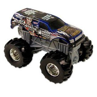 Hot Wheels Monster Jam BOUNTY HUNTER Rev Tredz Official Monster Truck Series 143 Scale Toys & Games