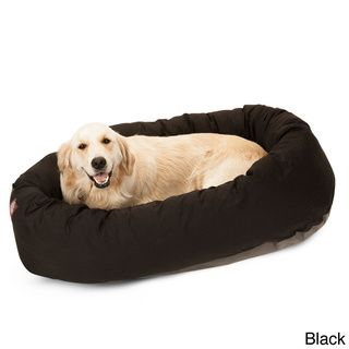 Large 40 Inch Round Padded Edge Dog Bed Majestic Other Pet Beds