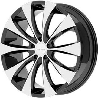 "KMC Wheels KM679 Wheel with Gloss Black Machined (20x8.5""/5x112mm) Automotive"