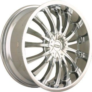 Dip Hype 18 Chrome Wheel / Rim 4x100 & 4x4.5 with a 40mm Offset and a 67.1 Hub Bore. Partnumber D50 8701C Automotive