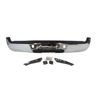 OE Replacement Toyota Tacoma Rear Bumper Assembly (Partslink Number TO1103113) Automotive