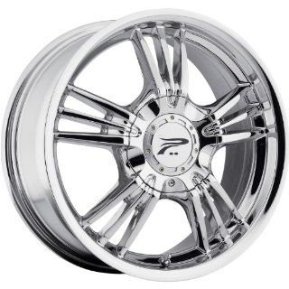 Platinum Wolverine 17 Chrome Wheel / Rim 5x110 & 5x115 with a 42mm Offset and a 73 Hub Bore. Partnumber 122 7710C+42 Automotive