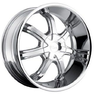 Pacer Infiniti 20x8.5 Chrome Wheel / Rim 5x4.25 & 5x4.5 with a 40mm Offset and a 73.00 Hub Bore. Partnumber 783C 2851440 Automotive