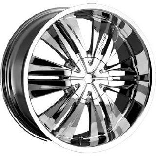 Cruiser Alloy Threshold 22x9.5 Chrome Wheel / Rim 5x5.5 with a 35mm Offset and a 108.00 Hub Bore. Partnumber 902C 2298535 Automotive