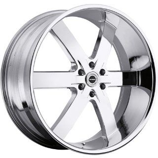Strada Spago 26 Chrome Wheel / Rim 6x5.5 with a 33mm Offset and a 78.1 Hub Bore. Partnumber S27663933 Automotive