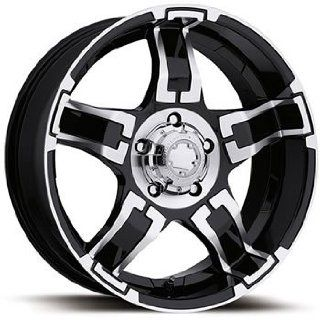 Ultra Drifter 17x8 Black Wheel / Rim 8x170 with a 20mm Offset and a 125.00 Hub Bore. Partnumber 194 7887B Automotive