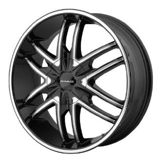 KMC KM678 20x8.5 Black Wheel / Rim 6x135 & 6x5.5 with a 38mm Offset and a 100.50 Hub Bore. Partnumber KM67828566338 Automotive