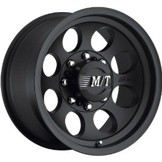 Mickey Thompson Classic III 17 Black Wheel / Rim 8x6.5 with a 0mm Offset and a 125.22 Hub Bore. Partnumber 90000001797 Automotive