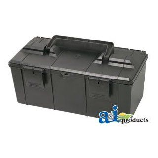 "A & I Products Tool Box, Plastic; 12.625"" X 6.625"" X 5.250"". Replacement for Ford   New Holland Part Number TB12625"