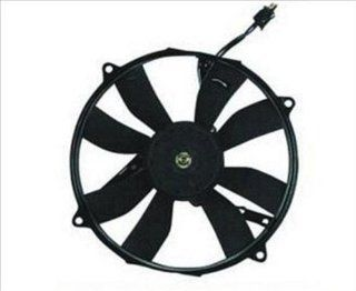 OE Replacement Mercedes Benz C220 Radiator Cooling Fan Assembly (Partslink Number MB3115104) Automotive