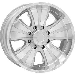 American Racing ATX Dominator 18x9.5 Diamond Cut Wheel / Rim 8x170 with a  19mm Offset and a 0.00 Hub Bore. Partnumber AX108789570 Automotive