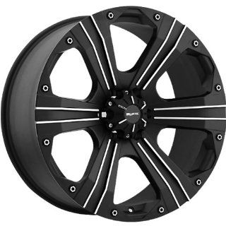 Ballistic Outlaw 15x8 Black Wheel / Rim 6x5.5 with a  27mm Offset and a 107.95 Hub Bore. Partnumber 902580655 27FB Automotive